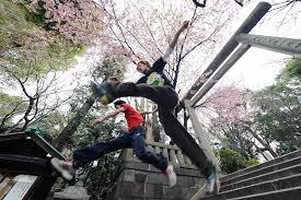 Ueno Park Parkour
